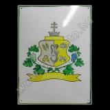 Festett családi címerek