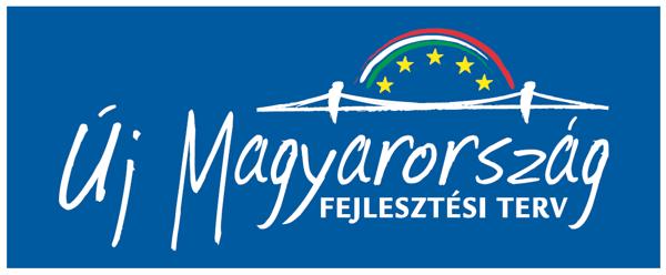 Új Magyarország Fejlesztési Terv tábla